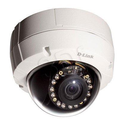 D-LINK [DCS-6511] Kamera IP kopułkowa [zewnętrzna] [1,3 Mega-Pixel] [PoE 802.3af] [H.264] [IR] [wandaloodporna, IP66]