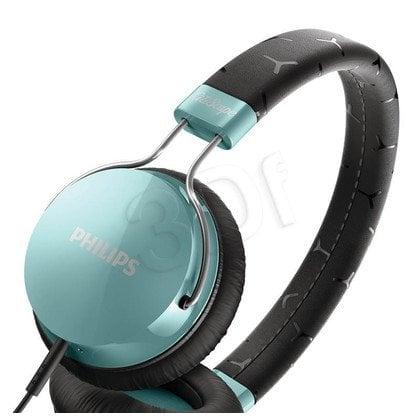 Słuchawki nauszne Philips SHL5300TL/00 (Czarno-turkusowy)