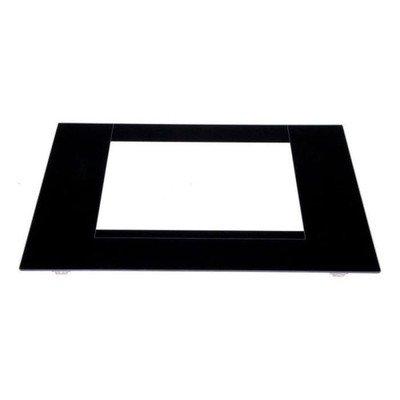 Szyba zewnętrzna drzwiczek piekarnika czarna (C00093338)