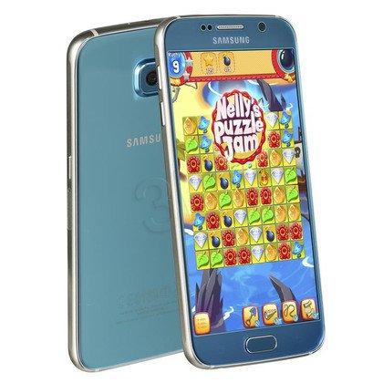 "Smartphone Samsung Galaxy S6 (G920F) 32GB 5,1"" niebieski LTE"