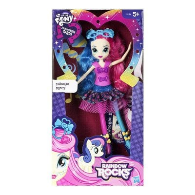 MLP MY LITTLE PONY EQUESTRIA GIRLS LALKA ROCK HASBRO B1186 SWEETIEDROP