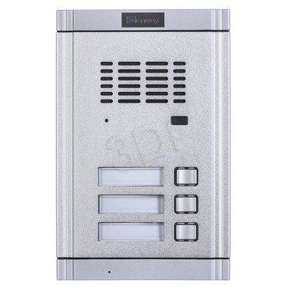 Panel domofonowy WL-02NE-3 Zewnętrzny z 3 przyciskami