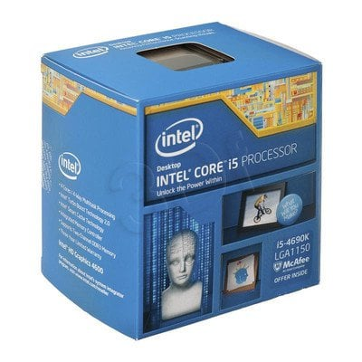 PROCESOR CORE I5 4690K 3.5GHz LGA1150 BOX