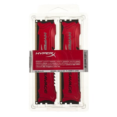 KINGSTON HyperX DDR3 2x4GB 1886MHz HX318C9SRK2/8