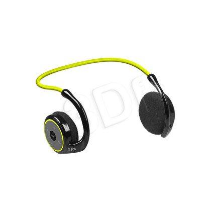 Słuchawki nauszne z mikrofonem SBS Sport Runway Fit (Czarno-żólte Bluetooth)