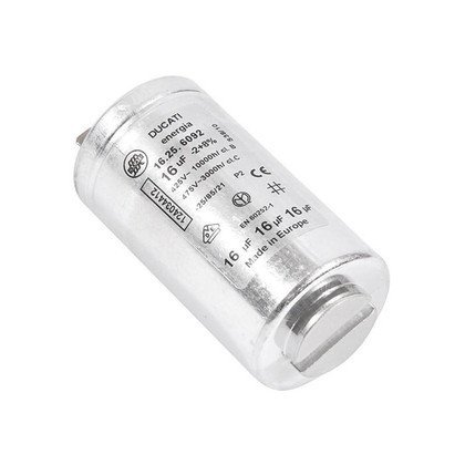 Elektronika do suszarek bębnowyc Kondensator o pojemności 16 µF (1240344125)
