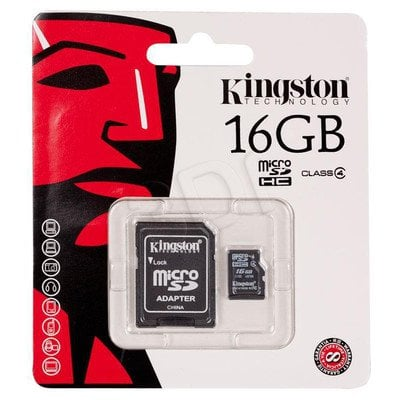 KINGSTON MICRO SD SDC4/16GB