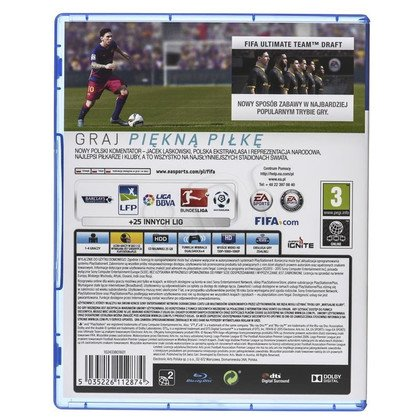 Gra PS4 FIFA 16