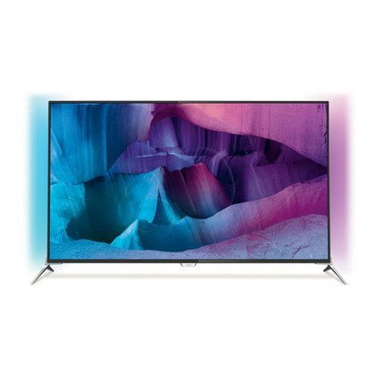 """TV 55"""" LCD LED Philips 55PUS7100/12 (Tuner Cyfrowy 800Hz Smart TV Tryb 3D USB LAN,WiFi)"""