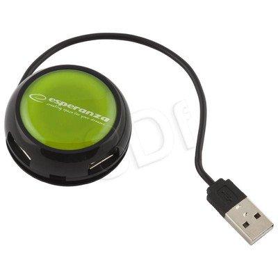 ESPERANZA HUB USB 2.0 4-PORTY YOYO ZIELONY EA135G