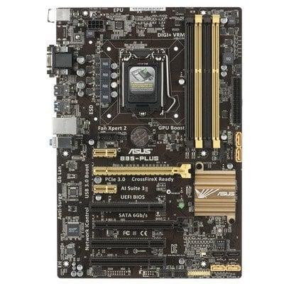 ASUS B85-PLUS Intel B85 LGA 1150 (2xPCX/VGA/DZW/GLAN/SATA3/USB3/DDR3/CROSSFIRE)