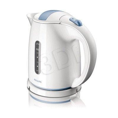 Czajnik elektryczny PHILIPS HD 4646/70 (1,5 l / 2400 W / biało niebieski)
