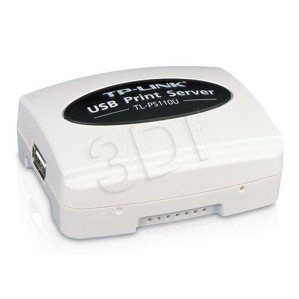 TP-LINK TL-PS110U Serwer druku ze złączem USB 2.0, Fast Ethernet