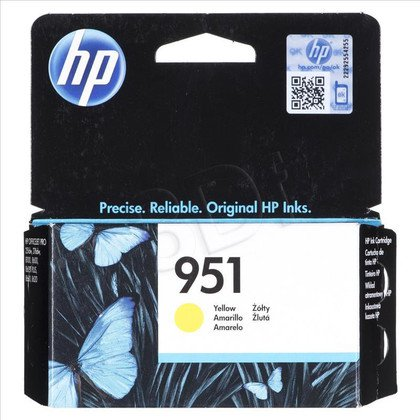 HP Tusz Żółty HP951=CN052AE, 700 str.