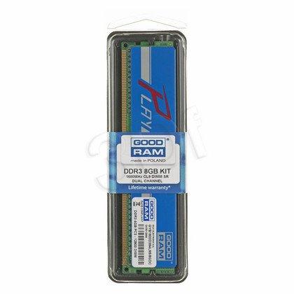 Goodram PLAY DDR3 DIMM 8GB 1600MT/s (2x4GB)