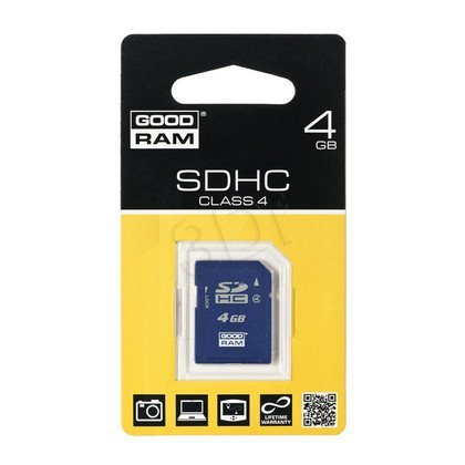 SECURE DIGITAL 4GB GOODRAM class 4