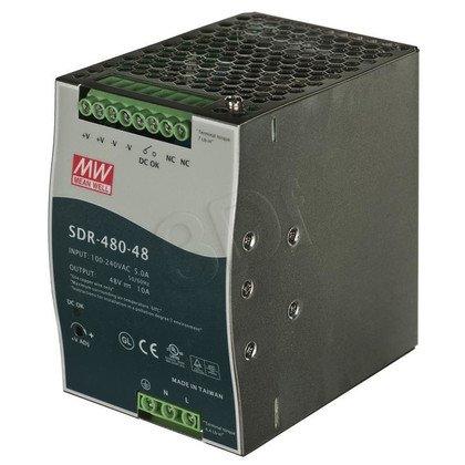 PLANET PWR-480-48 Zasilacz przemysłowy 480W DIN