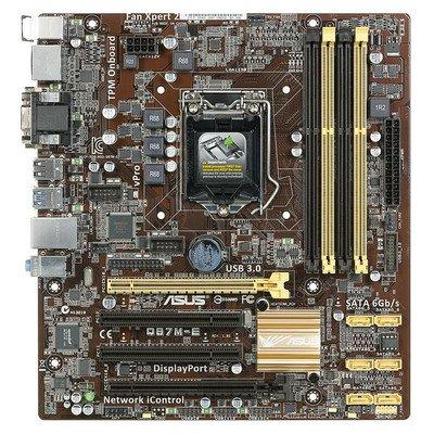 ASUS Q87M-E Intel Q87M LGA 1150 (2xPCX/VGA/DZW/GLAN/SATA3/USB3/RAID/DDR3/CROSSFIRE) mATX