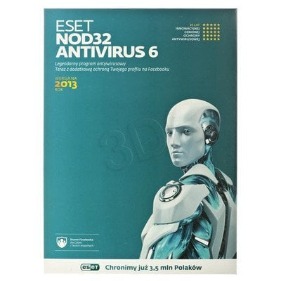 ESET NOD32 ANTIVIRUS UPGRADE - 1 STAN/24M
