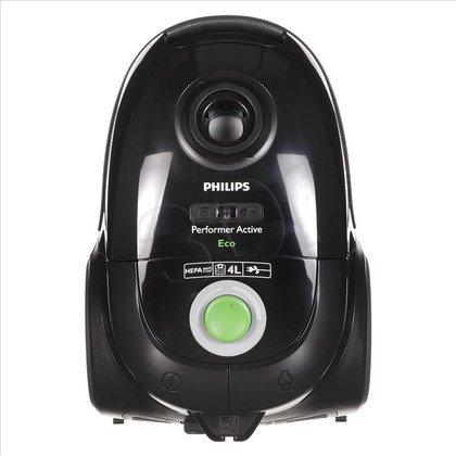 Odkurzacz Philips FC 8660/91 (z workiem 750W głęboka czerń/ zieleń)
