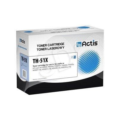 Actis TH-51X czarny toner do drukarki laserowej HP (zamiennik 51X Q7551X) Standard