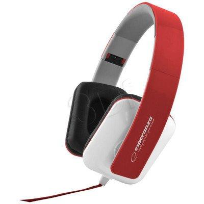 Słuchawki nauszne Esperanza JAZZ EH137R (Czerwony)