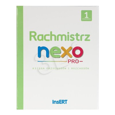 INSERT Rachmistrz nexo PRO 1 ST (BOX) 20podmiotów