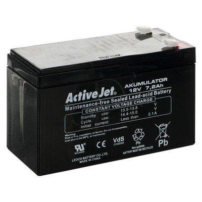 ACP-AK7 ActiveJet Akumulator UPS 12V 7,2Ah typ:CSB
