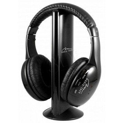 Słuchawki nauszne z mikrofonem Media tech SIRIUS MT3525 (Czarny Radio)