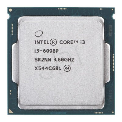 Procesor Intel Core i3 6098P 3600MHz 1151 Oem