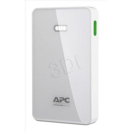 APC M5WH-EC Power Bank 5000mAh Li-polymer Biały