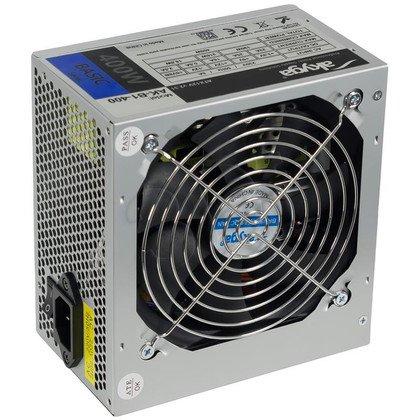 AKYGA ZASILACZ BASIC ATX 400W P4 FAN12CM 2XSATA 2xMOLEX