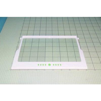 Półka szklana z ramką biała (1038164)