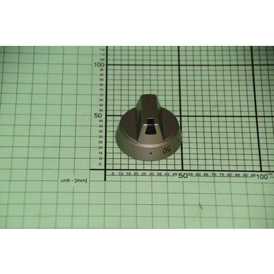 Pokrętło srebrne regulatora temperatury od 50-250 stopni E454.00/09.2739.00 (8033773)