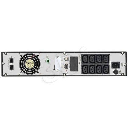 "POWER WALKER UPS ON-LINE 1000VA 8XIEC, LCD, RACK19""/TOWER, USB/RS-232"