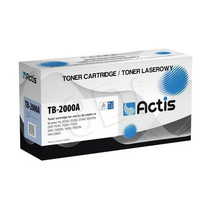 Actis TB-2000A toner Black do drukarki Brother (zamiennik Brother TN-2000) Supreme
