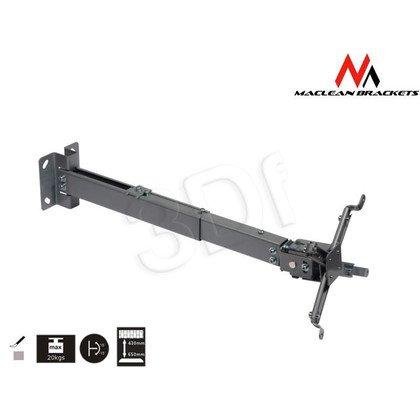 MACLEAN UCHWYT DO PROJEKTORA MC-581 SUFITOWY 43-65 CM 20KG