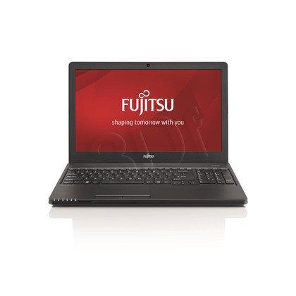 "Fujitsu LIFEBOOK A555 i5-5200U 8GB 15,6"" HD 500+8GB HD5500 Win7P Win8.1P Czarny 1Y"