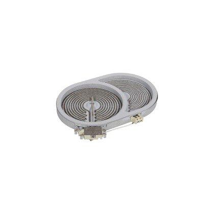 Grzałka płyty ceramicznej 165x265 1800W HL Whirlpool (480121101523)