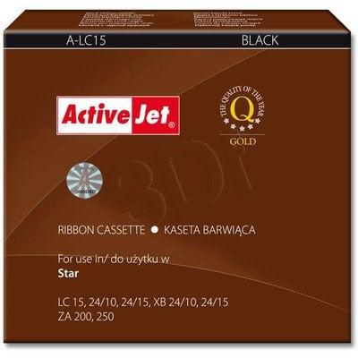 ActiveJet A-LC15 kaseta barwiąca kolor czarny do drukarki igłowej Star (zamiennik LC15)