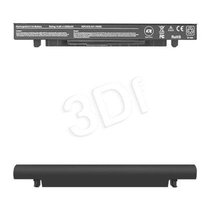 QOLTEC BATERIA DO ASUS X550 | 2200MAH | 14.8V