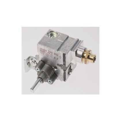 Zawór (kurek) gazowy palnika małego Whirlpool (481236058388)