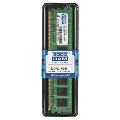 DDR3 4GB PC3-10600 CL9 GOODRAM 512x8