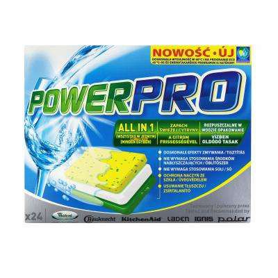 Tabletki do mycia POWERPRO all in 1 (24szt.) Whirlpool (484000000418)