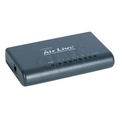 OVISLINK AirLive [ Live-8F ] Switch 8 portów 10/100Mbps [ Plastikowy ]