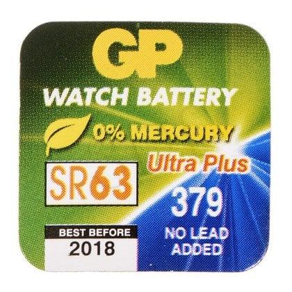 GP Bateria do zegarków SR63 blister 1szt.
