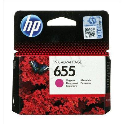 HP Tusz Czerwony HP655=CZ111AE, 600 str.