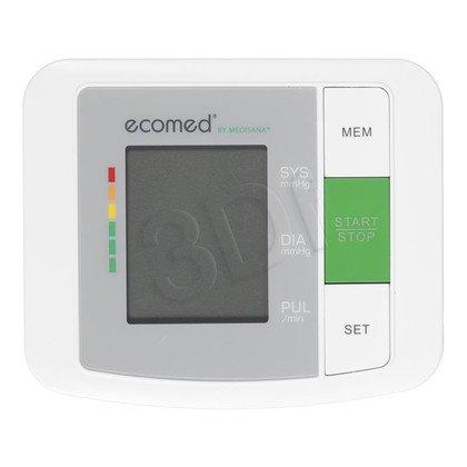 Ciśnieniomierz naramienny Ecomed BU-90E (wskaźnik arytmii, 90 zapamiętań dla 2 użytkowników, 22-36cm)