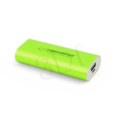 ESPERANZA POWER BANK HADRON 4400mAh ZIELONY EMP105G