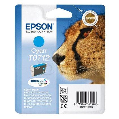 EPSON Tusz Niebieski T0712=C13T07124011, 8 ml